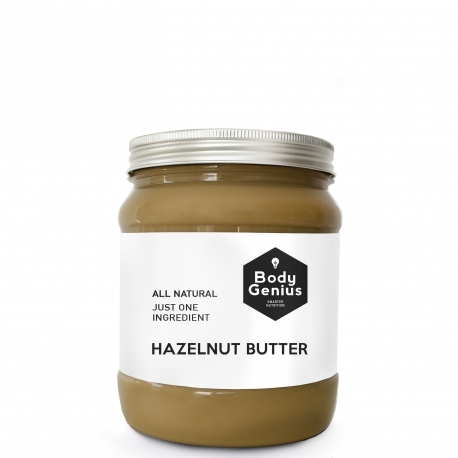 HAZELNUT BUTTER. Manteca de 100% avellana