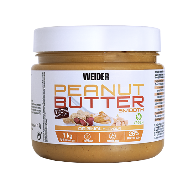 PEANUT BUTTER SMOOTH 1KG